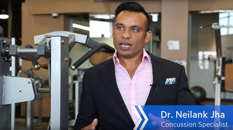 Dr. Neilank Jha Talks Concussion on The Star